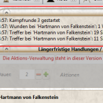 Kampf-Tool: Kampf-Log